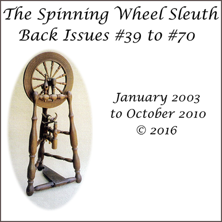 The Spinning Wheel Sleuth: Back Issues 39-70 compilation cover