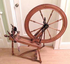 """Wheel marked """"Louis Bisson"""""""