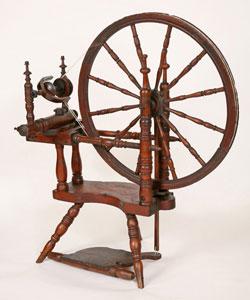 Restored Scandinavian wheel