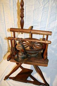 Bill's wheel with horizontal drive wheel