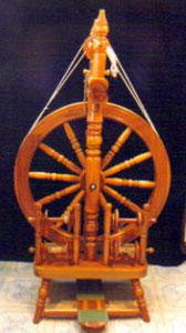 Betty's first wheel