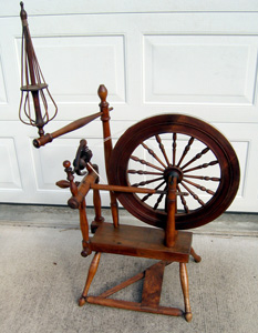 "Wheel marked ""J B"""