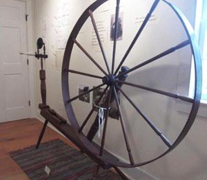 "Wheel marked ""R. TOWNLEY3"""