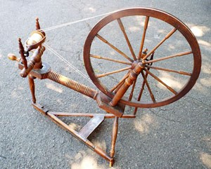 Karin's heirloom wheel