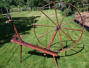 Great wheel marked R. H. ROW/ PEMBROKE