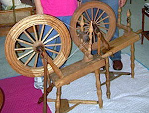 Reassembled spinning wheels