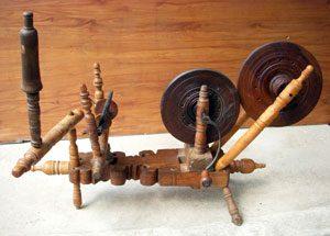 Turkish wheel with Boxwood parts