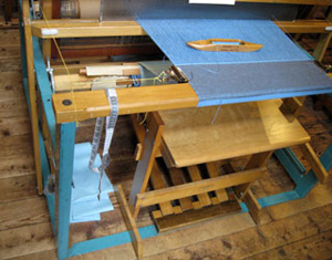 "Bailey loom was manufactured in Lodi, OH. called the ""rehabilitation loom"" for use in physical therapy."