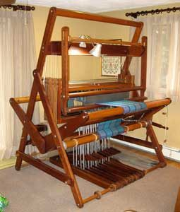 Barbara IV loom designed and patented in 1979 by Thought Products.