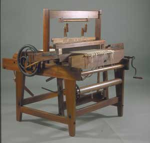 Complete Branson Loom. Courtesy of American Textile History Museum.