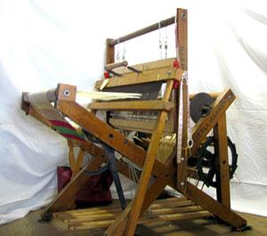"Reed Loom Company ""Little Dandy"" model from the side."
