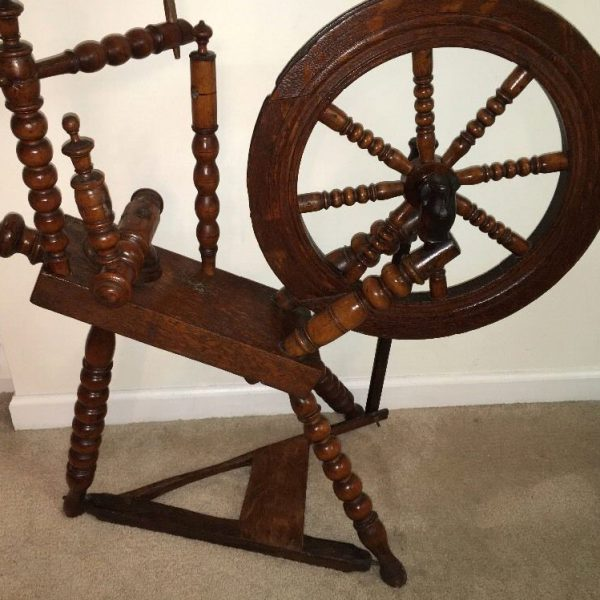 Flax wheel dated 1754.
