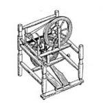 Figure 17: Double wheel/double treadle.