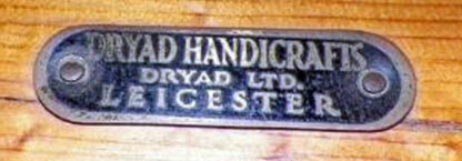 Dryad metal name plate. Courtesy of Laurie Ball-Gisch.