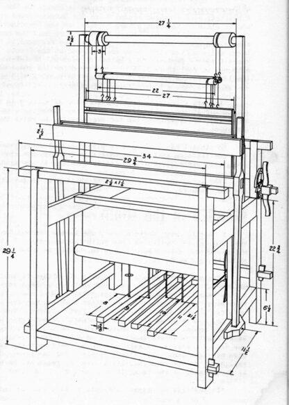 Diagram of Devereux Loom front view