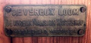 """Label """"Devereux Loom"""""""
