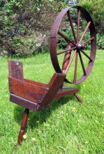Bobbin winder marked J. PLATT