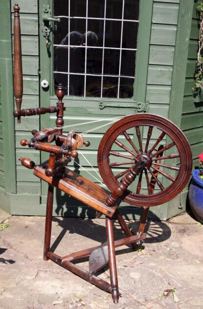 Double-flyer wheel, restored